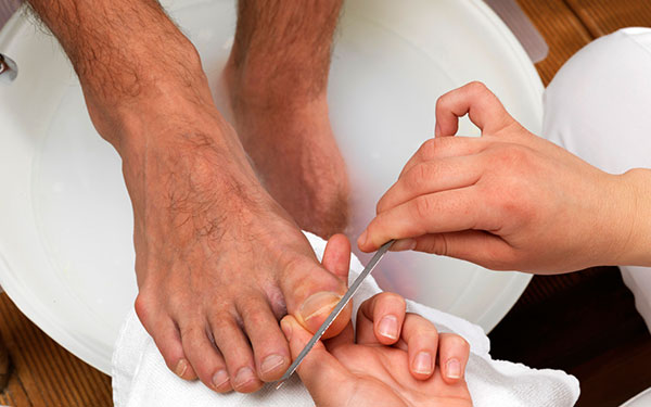 gent pedicure